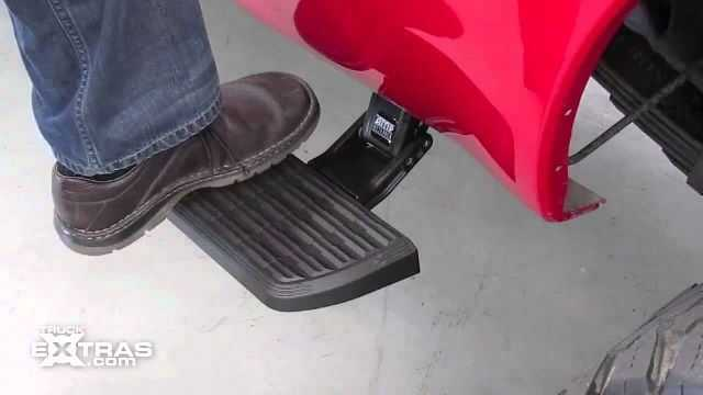 Retractable Truck Steps