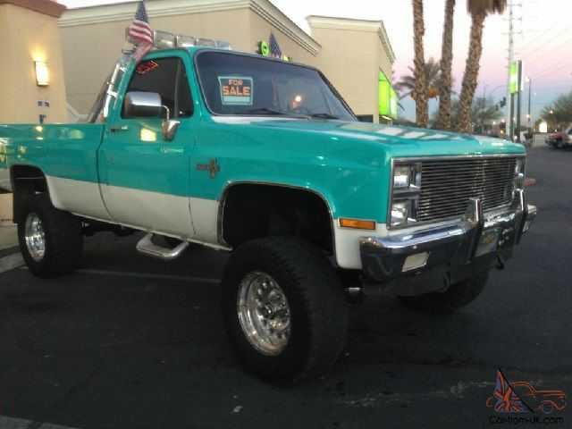 Square Body Chevy Truck for Sale