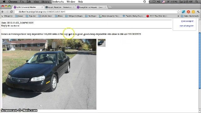 Craigslist Free Cars And Trucks By Owner (classic Cars