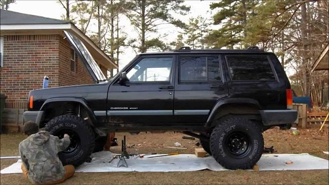 98 Jeep Cherokee Lift Kit