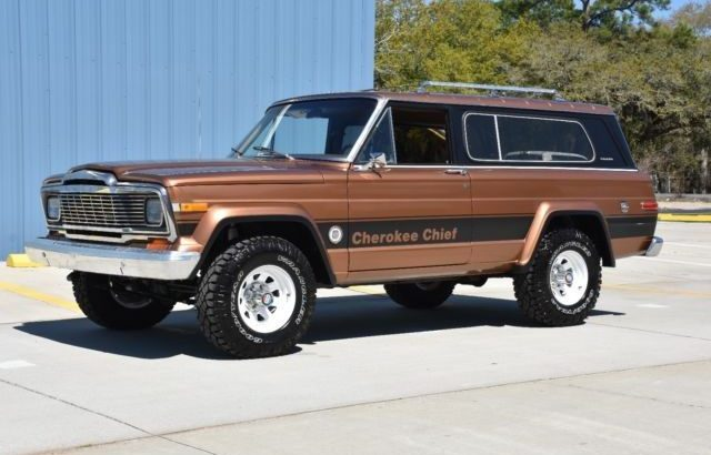 Jeep Cherokee Chief for Sale