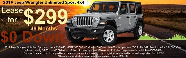 Jeep Dealers in Nj