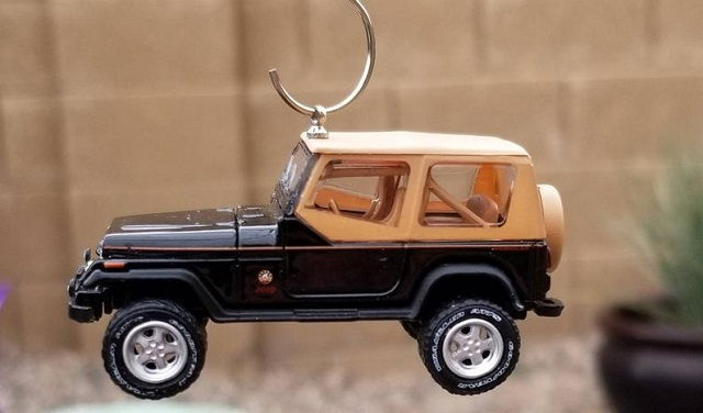 Jeep Christmas Ornament