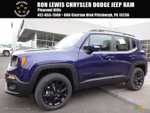 Jeep Renegade Colors 2017