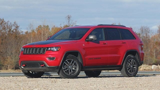 2017 Jeep Grand Cherokee Limited Reviews