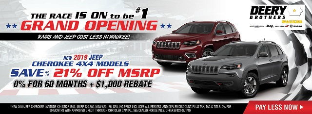 Jeep Dealers in Des Moines