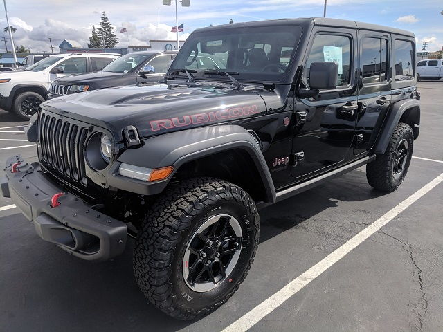 Jeep Rubicon Lease