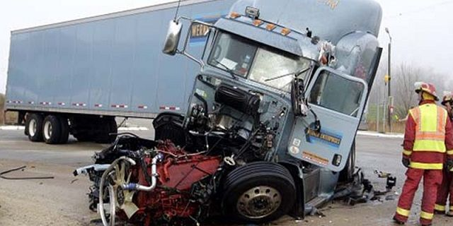 Semi Truck Accidents Today