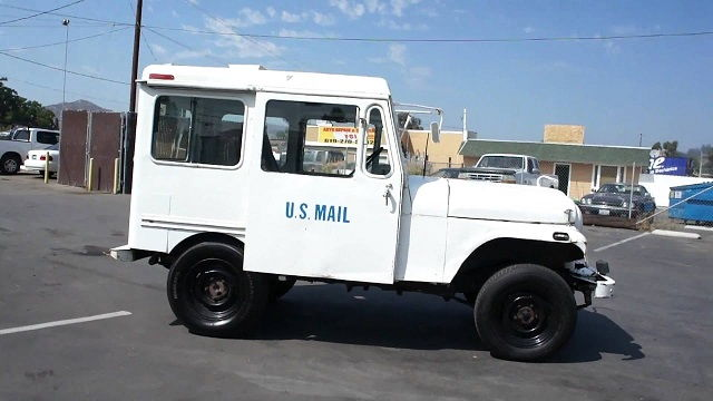 Postal Truck Auction
