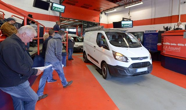 Van and Truck Auctions