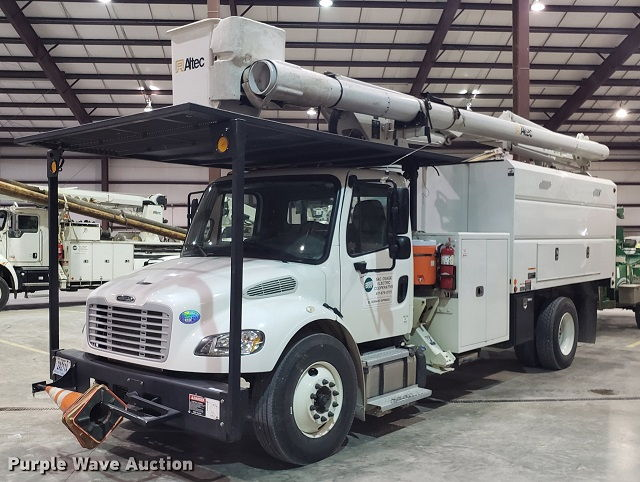 Forestry Bucket Truck Auctions