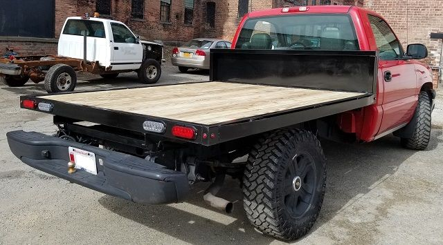Flatbed Truck Body Plans