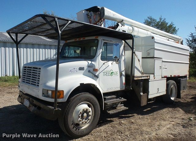 Images and photos Forestry Bucket Truck Auctions