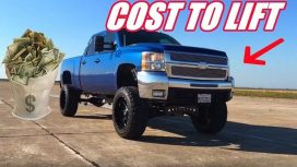 Cost to Lift a Truck 2, 6, 12, Inches&Installation