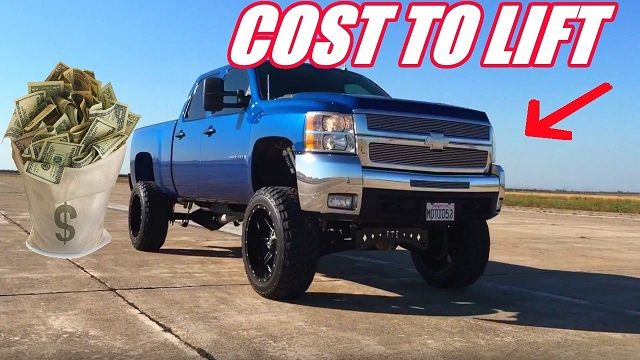 Cost to Lift a Truck