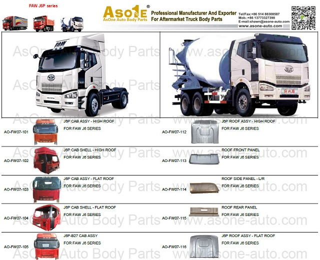Cheap Truck Body Parts