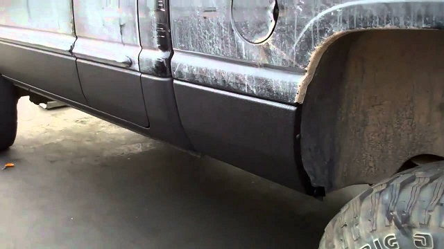 Bed Liner on Truck Body