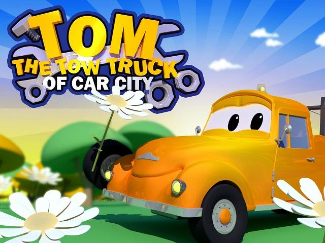 Tom the Tow Truck Book