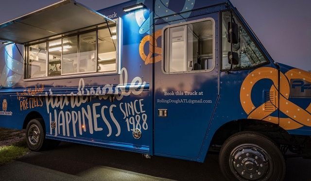 Auntie Anne's Food Truck Franchise