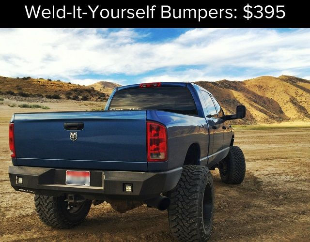 Heavy Duty Pickup Truck Bumpers