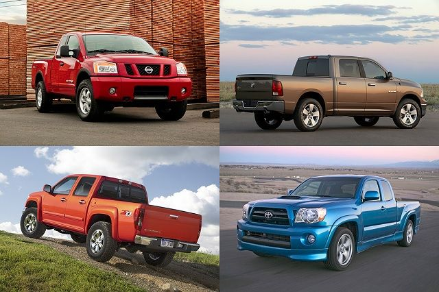 Used Pickup Truck Prices