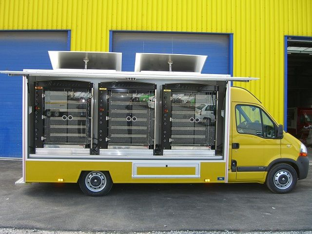 Rotisserie Food Truck for Sale