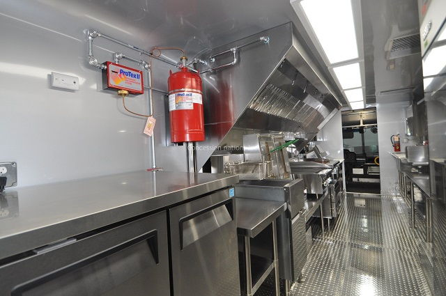 Food Truck Fire Suppression System Cost