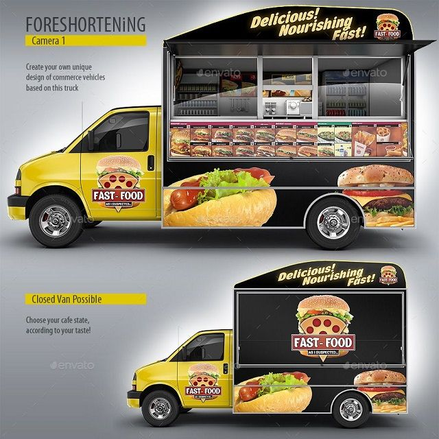 Make Your Own Food Truck Design