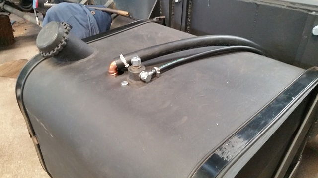 Auxiliary Fuel Tank Truck