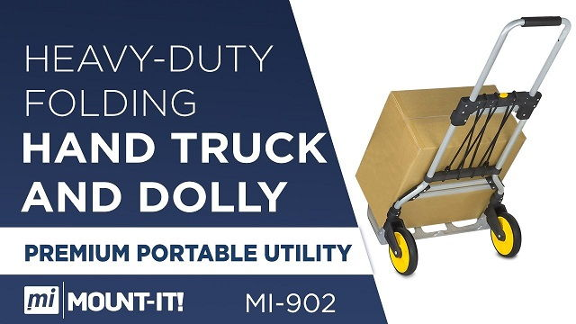 Platform Truck With Folding Handle