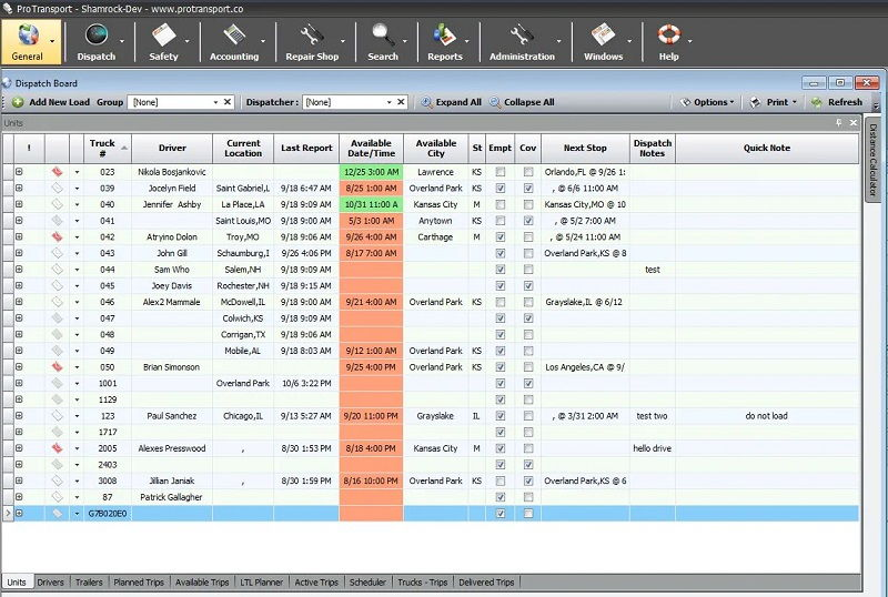 Best Trucking Software